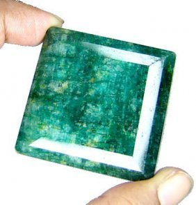 10Q:  305 ct. Museum Size Emerald Gem- $13k GG GIA Appr