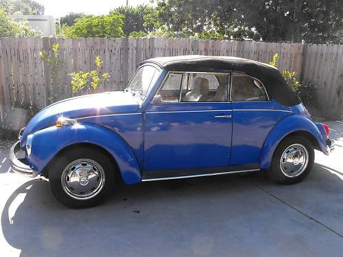 3J: 1972 Super Beetle- Classic Convertible
