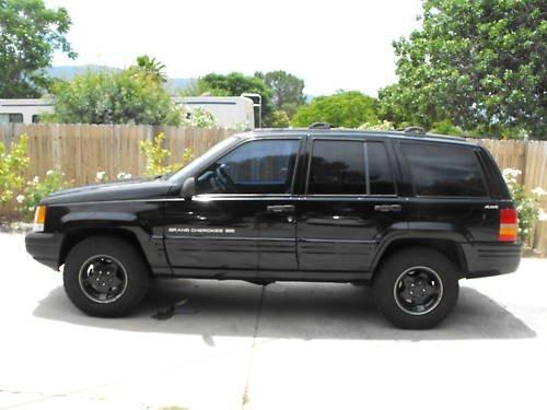 8J: 1998 Jeep Grand Cherokee- Custom Paint
