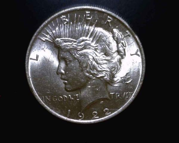 2: 1924 Mint State Peace Silver Dollar-