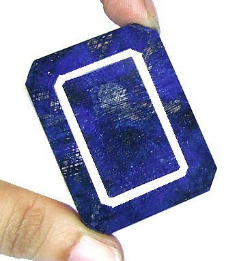 7Z: 385 ct. Blue Sapphire Gemstone $ 7k GG GIA