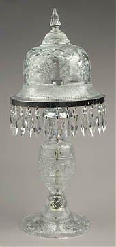 2A: Hand Cut Crystal Lamp