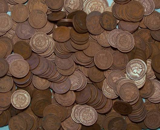 2: Huge Lot of 1000 Indian Head Cents- Many 19th Cent.
