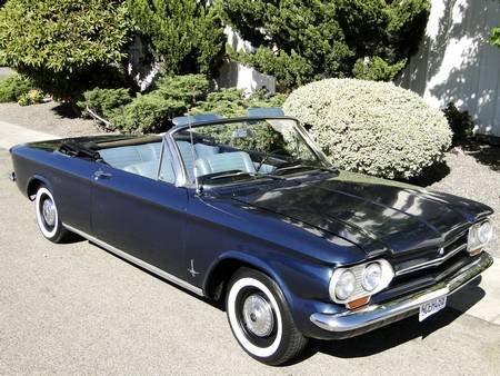 4C: 1964 CHEVROLET CORVAIR MONZA CONVERTIBLE 4 SPEED