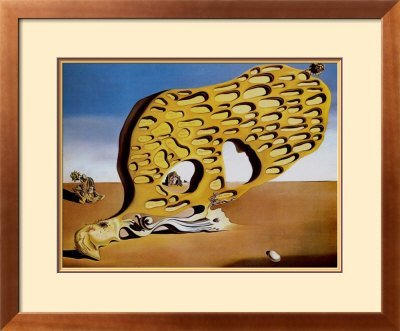 2U: Dali- L'Enigma del Desiderio- Framed Art Print