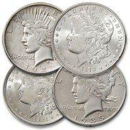 363: First & Last Morgan & Peace Dollars