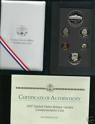 1A: 1997 U.S. Prestige Proof Set