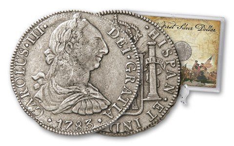 13A: America's First Silver Dollar 2PC Set