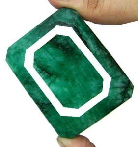 4K: 590 Brazilian Emerald Gemstone