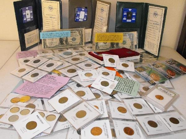 22Z: Bonanza Lot Coin Collection- Paper- Silver- More