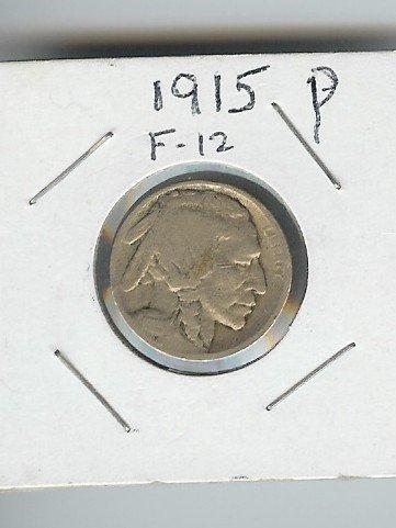 10: 1915 P Buffalo Nickel- Fine