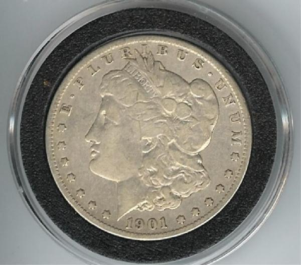 13: 1901 O Morgan SIlver Dollar