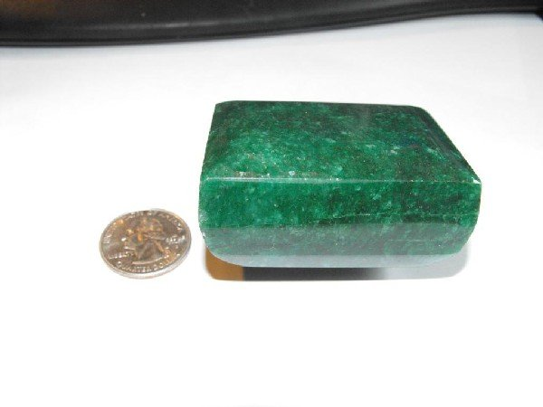 8K: 935 ct. Emerald Gemstone- $ 36k GG GIA