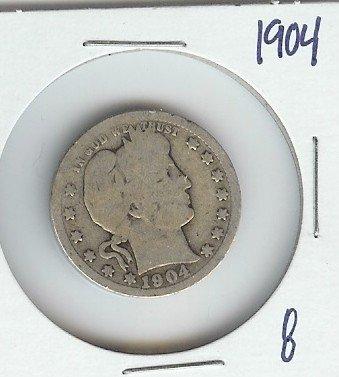 7A: 1916 D Barber Quarter