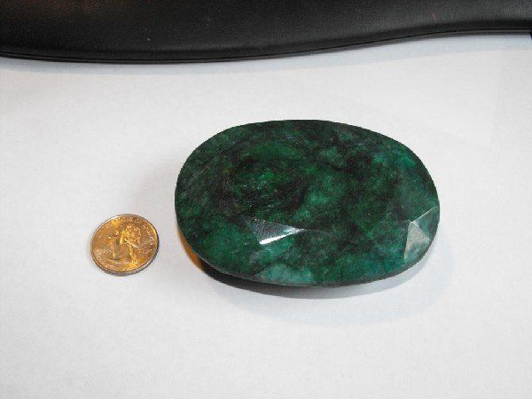 3K: Museum Size 1500 ct. Emerald Gem- $ 65k GG GIA