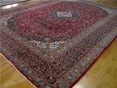 1H: Mahsad Persian Rug - Room Size Large! Extra Nice!