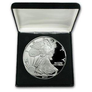 5X: .999 Fine (4 troy oz) Silver Eagle - (2010)
