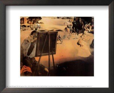 4P: Salvador Dali - Impression of Africa - Framed