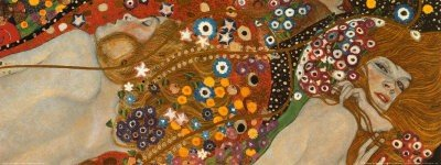 6P: Gustav Klimt - Water Serpents II -