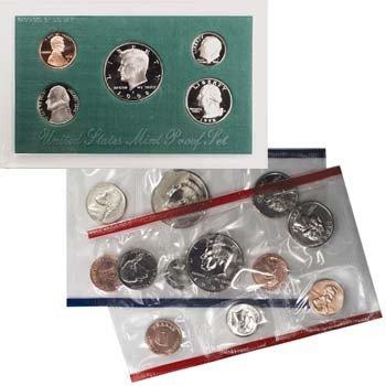 205: 1998 U.S. Mint & Proof Set Pair