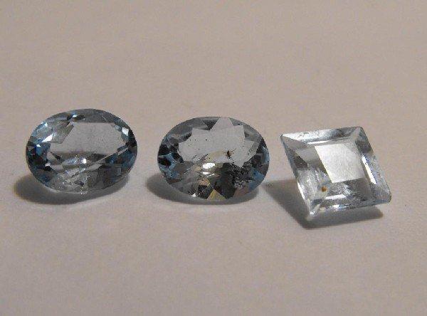 6W: 8.5 ct. Blue Topaz Gemstones