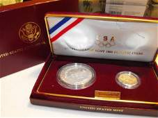 48 1988 Olympic Commemerative GOLDSilver