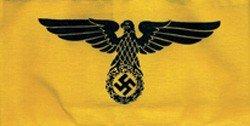 2X: State Service Nazi Armband - WW II Germany
