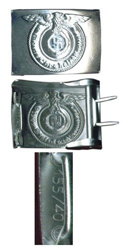 3X: SS Enlisted Belt Buckle