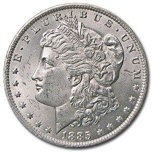 3: 1885 O Morgan SIlver Dollar -UNC