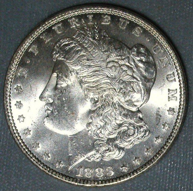 6: 1883 O Morgan Uncirculated - UNC