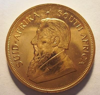8: Gold Krugerrand 1 oz Uncirculated