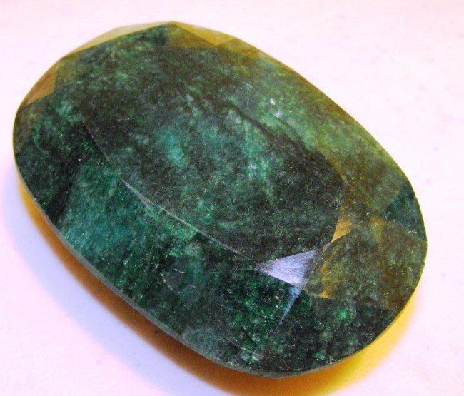 1G: 1180 ct. Emerald Gemstone $ 24K GG GIA