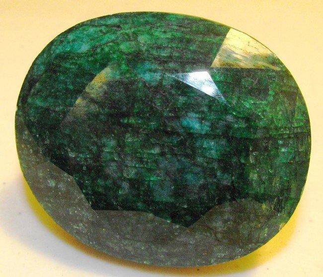 3G: 1385 ct. Emerald Gemstone $ 26K GG GIA