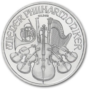 6: Silver 1 oz. Philharmonic Bullion