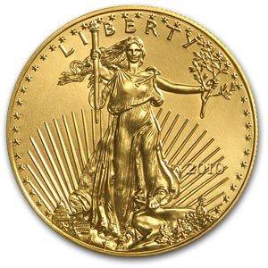 39: 1 oz. US Gold Eagle - .999 Pure - Random Date