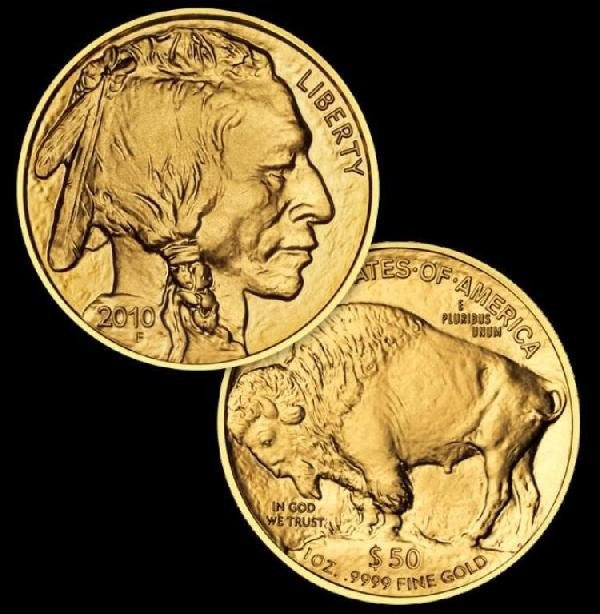 55: 1 oz. Gold 24K Buffalo US Bullion