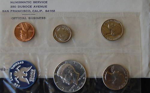 1B: 1965 Mint Set