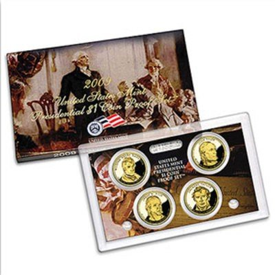 6B: 2008 Presidential Gold Dollar Proof Set