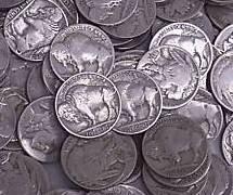 6: Lot of 500 Buffalo / Indian Head Nickels- RD