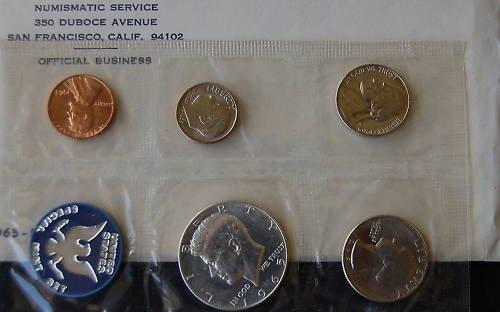 2B: 1965 Mint Set