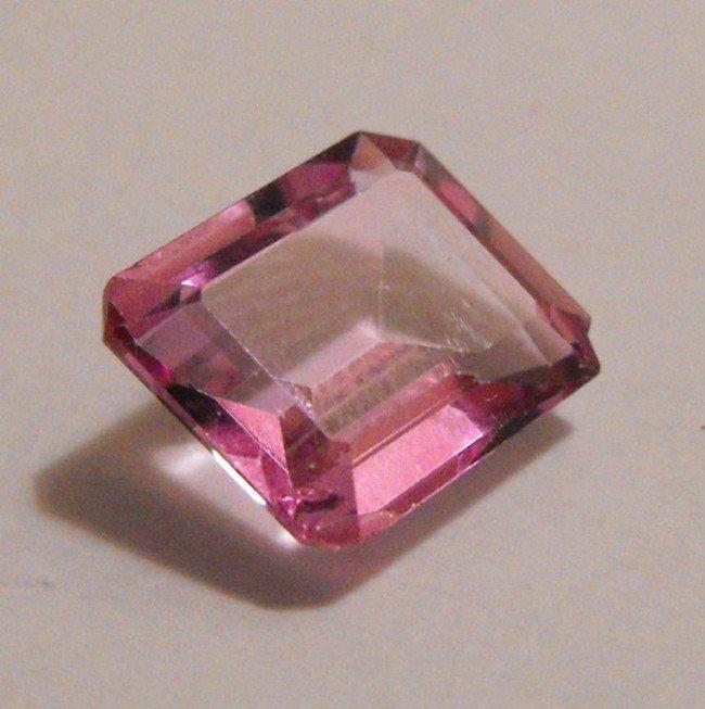 4B: Fine 5 ct. Pink Topaz Gemstone -