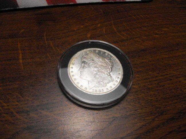 1: 1885-O Morgan Silver Dollar