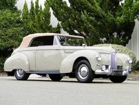 2J: 1949 HUMBER DROPHEAD COUPE 1 OF 28 RARE!!!