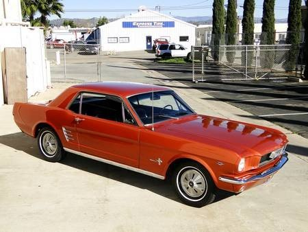 2A: 1966 FORD MUSTANG 289ci 4 SPEED