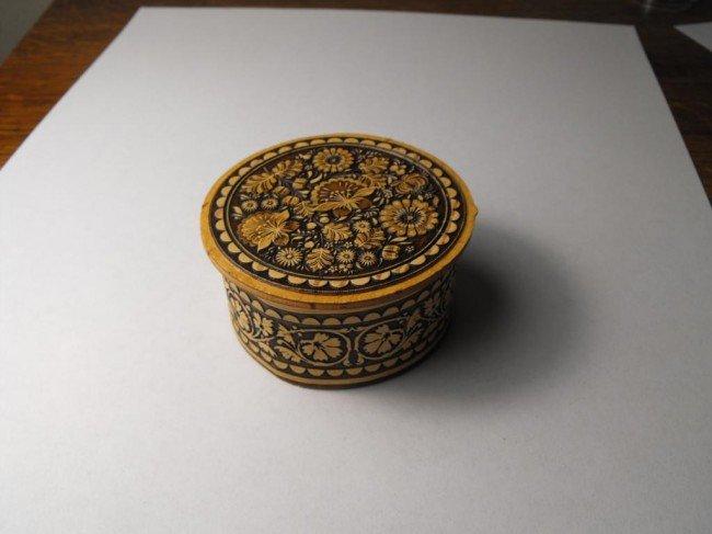 3A: Small Fancy Siberian Birch Trinket Box