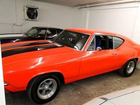 1R: 1968 CHEVELLE STREET/STRIP CAR 406 STROKER
