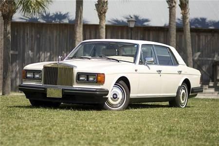 3R: 1987 ROLLS ROYCE SILVER SPUR 1 OWNER CAR