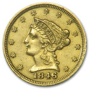 2S: $2.5 Gold Liberty Random Date -