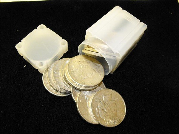 6S: (20) Peace Silver Dollars