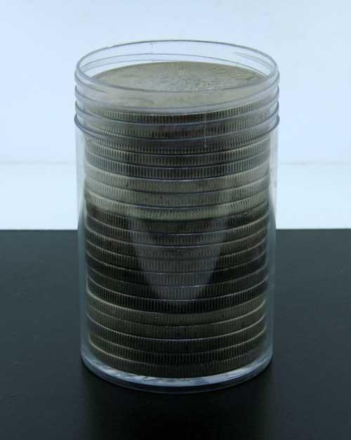 10S: Roll of Morgan Silver Dollars - ag-au
